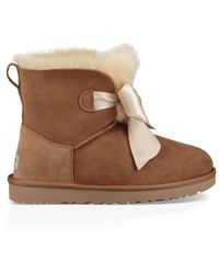 UGG Gita Bow Mini Boot Gita Bow Mini Boot - Brown
