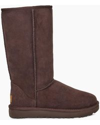 UGG Women's Classic Tall Ii Water-resistant Suede Boot - Brown