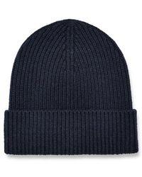 UGG Wide Cuff Rib Hat - Blue