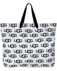 UGG Canvas Logo Tote-Tasche für - Natur