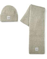 UGG Chunky Rib Knit Hoed - Grijs