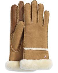 UGG Seamed Tech Handschuhe für - Braun