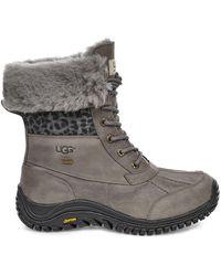 UGG Adirondack Boot Ii Exotic - Grey