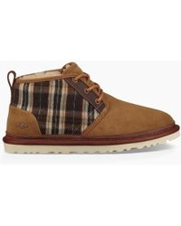 a1f5a23c391 UGG Butte (blue Surf Plaid) Shoes in Blue for Men - Lyst