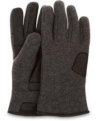 UGG Fabric And Leather Handschoenen - Meerkleurig