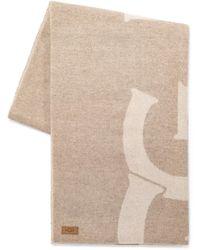 UGG Woven Logo Schal für - Natur