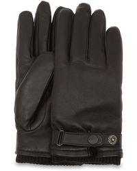 UGG Leather Belted Handschoenen - Zwart