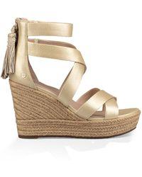 UGG Raquel Metallic Sandal