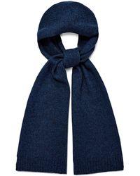 UGG Eastwood Rib Knit Scarf Cashmere - Blue