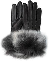 UGG - 3 Point Long Toscana Trim Smart Glove - Lyst