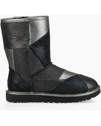 UGG - Women's Share This Product Classic Glitter Patchwork Boot - Lyst