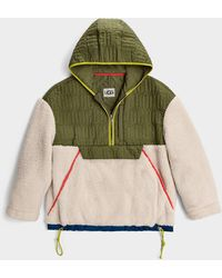 UGG Iggy Sherpa Half Zip Pull pour - Multicolore