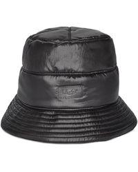 UGG Reversible All Weather Bucket Chapeaux pour - Noir