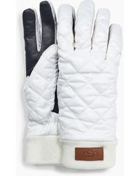 UGG Quilted All Weather Glove Quilted All Weather Glove - White