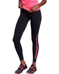 Superdry Core Essential Leggings - Black