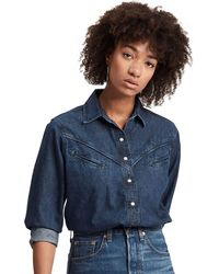 Levi's Dori Western Denim Shirt - Blue