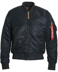 Alpha Industries Ma-1 Vf 59 Flight Jacket - Blue