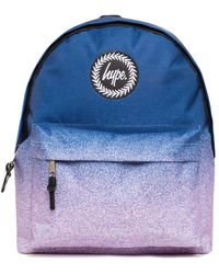 Hype Speckle Fade Backpack Bag - Blue