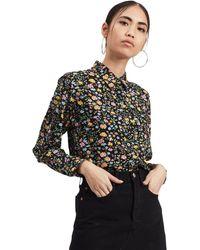 Levi's Ultimate Boyfriend Floral Shirt - Black