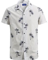 Jack & Jones Perry Short Sleeve Shirt - White