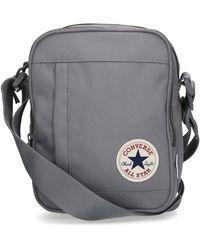 Converse All Star Cross Body Messenger Bag - Gray