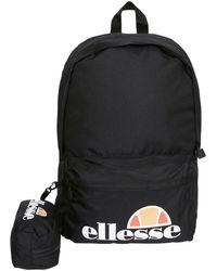 Ellesse Rolby Backpack Bag And Pencil Case Set - Black
