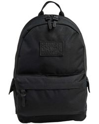 Superdry Classic Montana Backpack Bag - Black