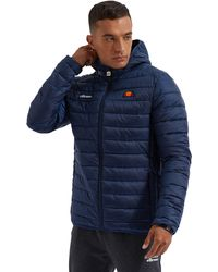 Ellesse Lombardy Padded Jacket Dress Blues Coats & Jackets