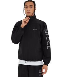 Nicce London Jolla Zip Through Jacket Black