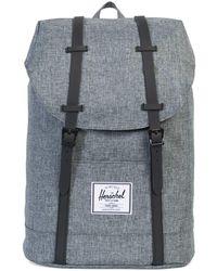 Herschel Supply Co. Retreat Straps Backpack Rucksack Bag - Grey