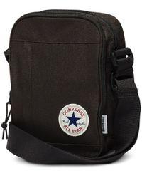 Converse All Star Cross Body Messenger Bag - Black