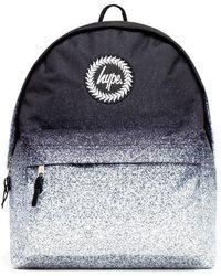 Hype Speckle Fade Backpack Bag - Black
