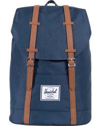 Herschel Supply Co. Retreat Straps Backpack Rucksack Bag - Blue