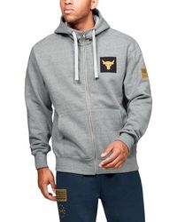 Under Armour Freedom X Project Rock Full Zip - Gray