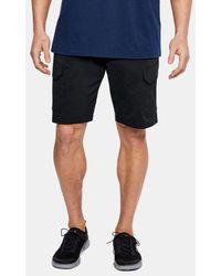 Under Armour Ua Fish Hunter Cargo Shorts - Black