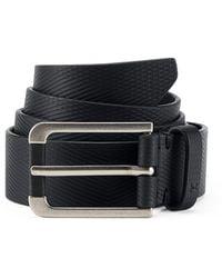 Under Armour - Men's Ua Debossed Leather Belt - Lyst