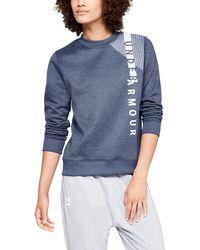 Under Armour - Women's Armour Fleece® Crew - Lyst