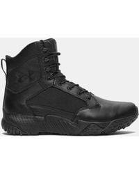 Under Armour Ua Stellar Tactical Side-zip Boots - Black