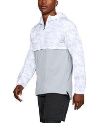 Under Armour Men's Ua Wind Anorak Jacket - White
