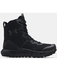 Under Armour Ua Micro G® Valsetz Zip Tactical Boots - Black