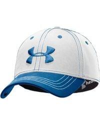 Under Armour Men's Charged Cotton® Stretch Fit Cap - Blue