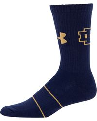 Under Armour - Men's Notre Dame Ua Crew Socks - Lyst