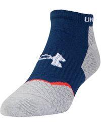 Under Armour - Men's Ua Tour No Show Socks - Lyst