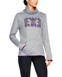 Under Armour - Women's Armour® Fleece Graphic Twist Pullover - Lyst
