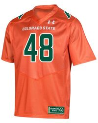 Under Armour Collegiate Football Replica Jersey in Blue for