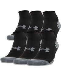 Under Armour - Men's Ua Resistor Iii No Show Socks 6-pack - Lyst