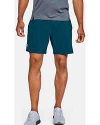 """Under Armour Men's Ua Speedpocket Run 7"""" Shorts - Green"""