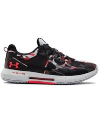 Under Armour Hovr Rise Printed Cross Sneaker - Black