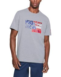 Under Armour - Men's Ua Freedom Protect This House T-shirt - Lyst