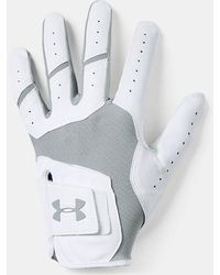 Under Armour Ua Iso-chill Golf Glove - Gray